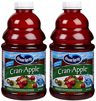 Ocean Spray Cranapple Juice - 46 oz - 2 pk