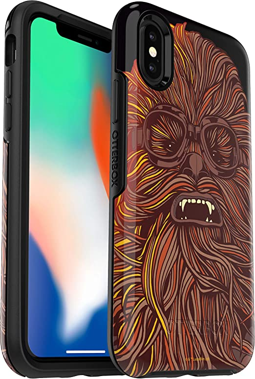 OtterBox SYMMETRY SERIES Cell Phone Case for iPhone X - Chewbacca ...