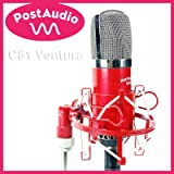 Post Audio C81 Ventura Gold Diaphragm Studio Condenser Mic