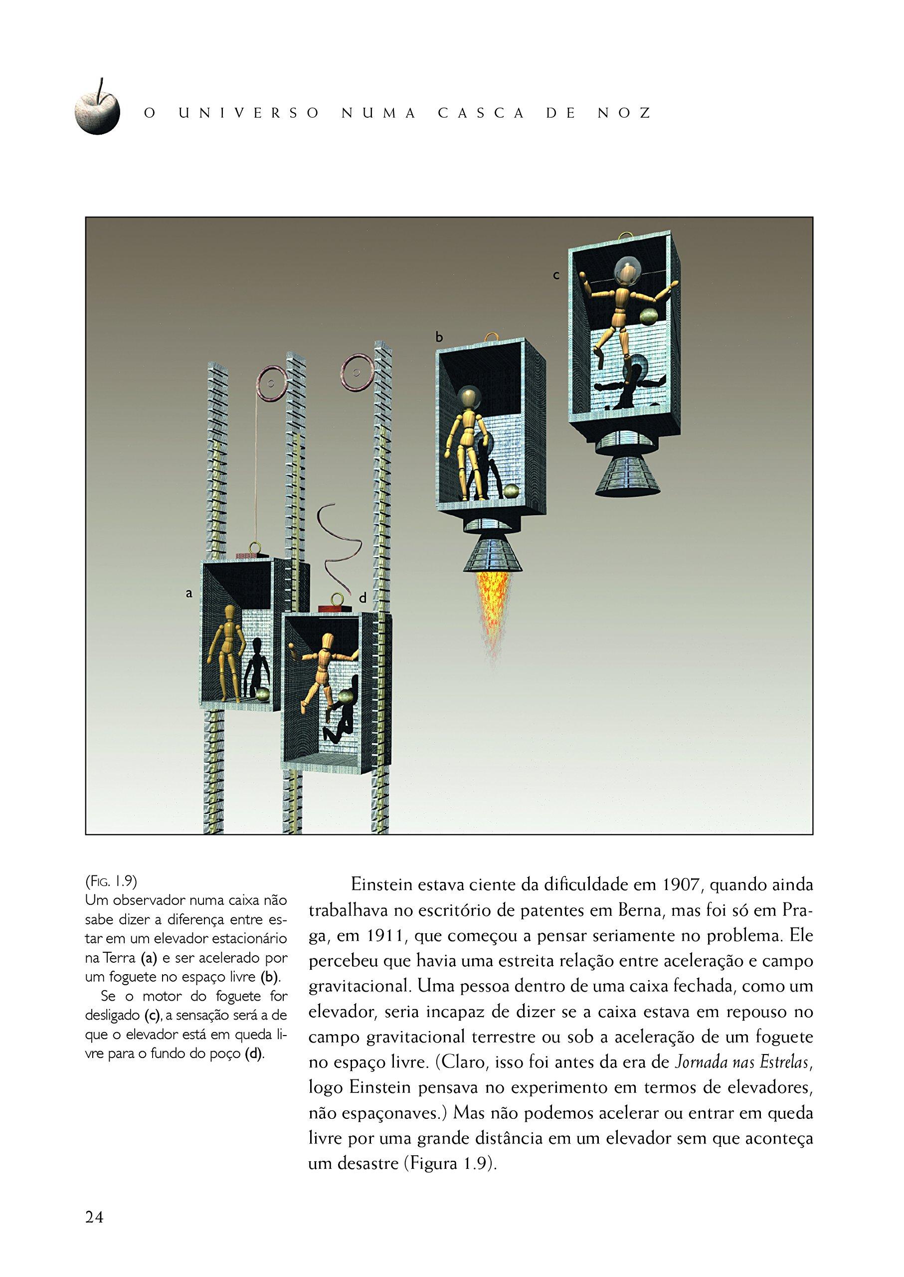 2dade4995b7b8 O Universo Numa Casca de Noz - Livros na Amazon Brasil- 9788580578898
