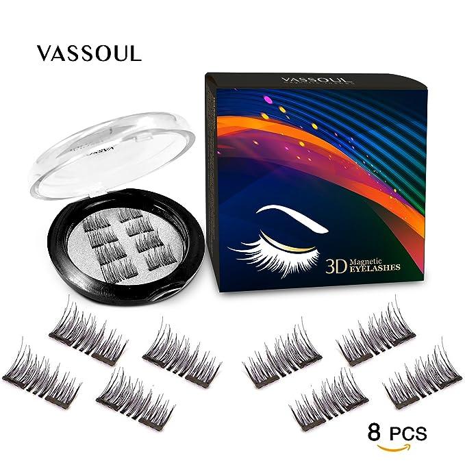 Vassoul Dual Magnetic Eyelashes 02mm Ultra Thin Magnet Lightweight