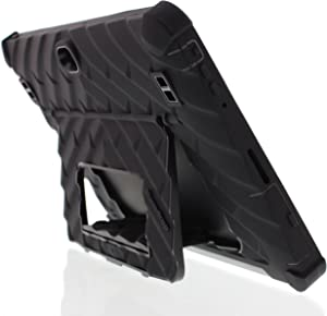 Gumdrop Hideaway Case Designed for Dell Venue 10 Pro 5056 Laptop for Commercial, Business and Office Essentials - Black, Rugged,Shock Absorbing, Extreme Drop Protection