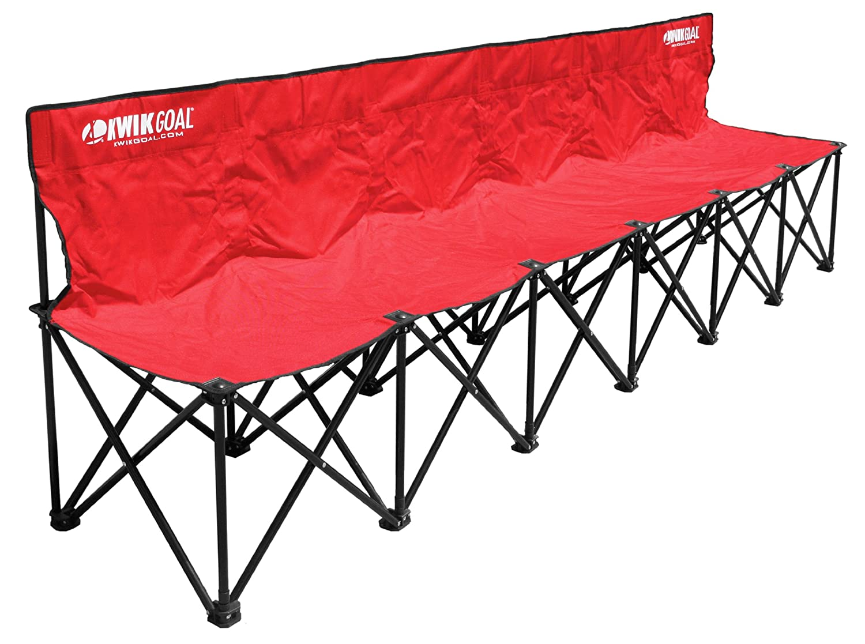 Amazon.com : Kwik Goal 9B906 6-Seat Kwik Bench : Soccer Nets ...