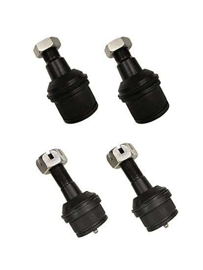 Amazon com: 4 Pcs 2 Upper & 2 Lower Ball Joints For Ram 2500