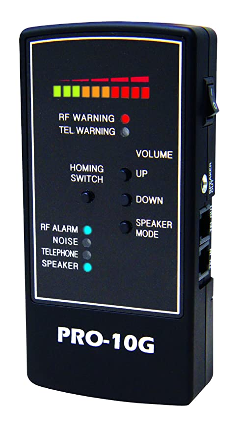 Spy-Hawk Security Products Spy Hawk Pro-10G is Number 1 GPS Tracker Finder,  RF Bug and Phone Tap Detector
