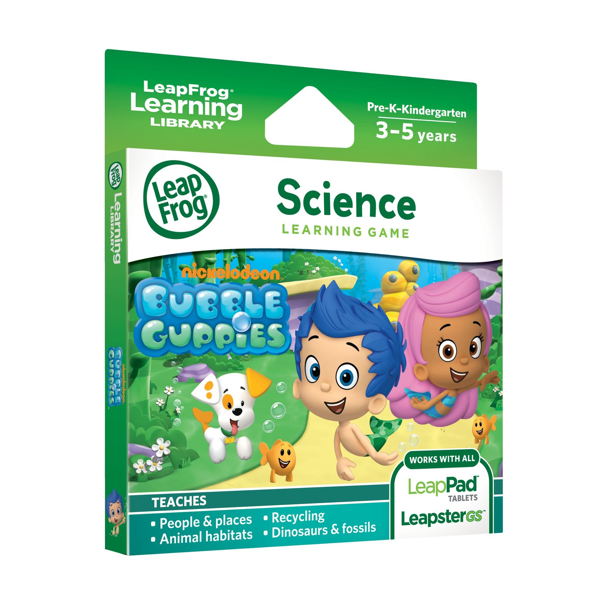 LeapFrog Learning Game: Bubble Guppies (for LeapPad Platinum, LeapPad Ultra, LeapPad1, LeapPad2, LeapPad3, Leapster Explorer, LeapsterGS Explorer) by LeapFrog (Image #2)