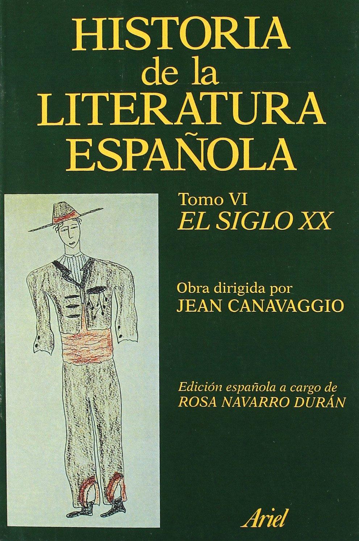 Historia literatura española. El siglo XX Ariel Letras: Amazon.es ...