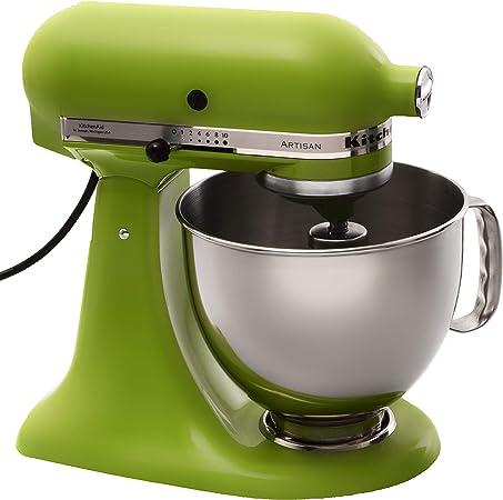 KitchenAid Artisan 5KSM150PS Batidora amasadora, 300 W, 1 Decibelios, Acero Inoxidable, 10 Velocidades, Verde: Amazon.es: Hogar