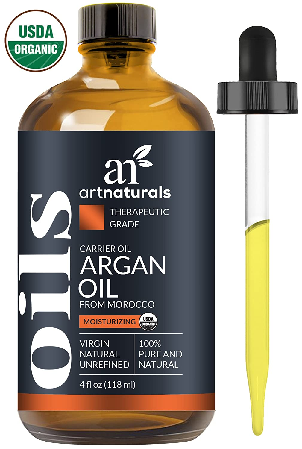 organic argan oil for hair and face