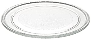 LG Electronics 3390W1A035D 10-Inch Microwave Oven Glass Turntable Tray, Clear