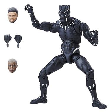 Marvel Black Panther Legends Series Black Panther, 6-inch