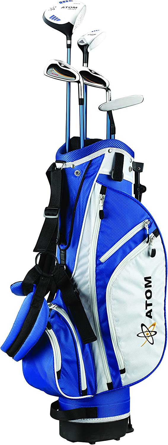 """Founders Club Atom Complete Junior Golf Set, Youth 54-63"""" Tall, Ages 10-13, Right-Handed"""
