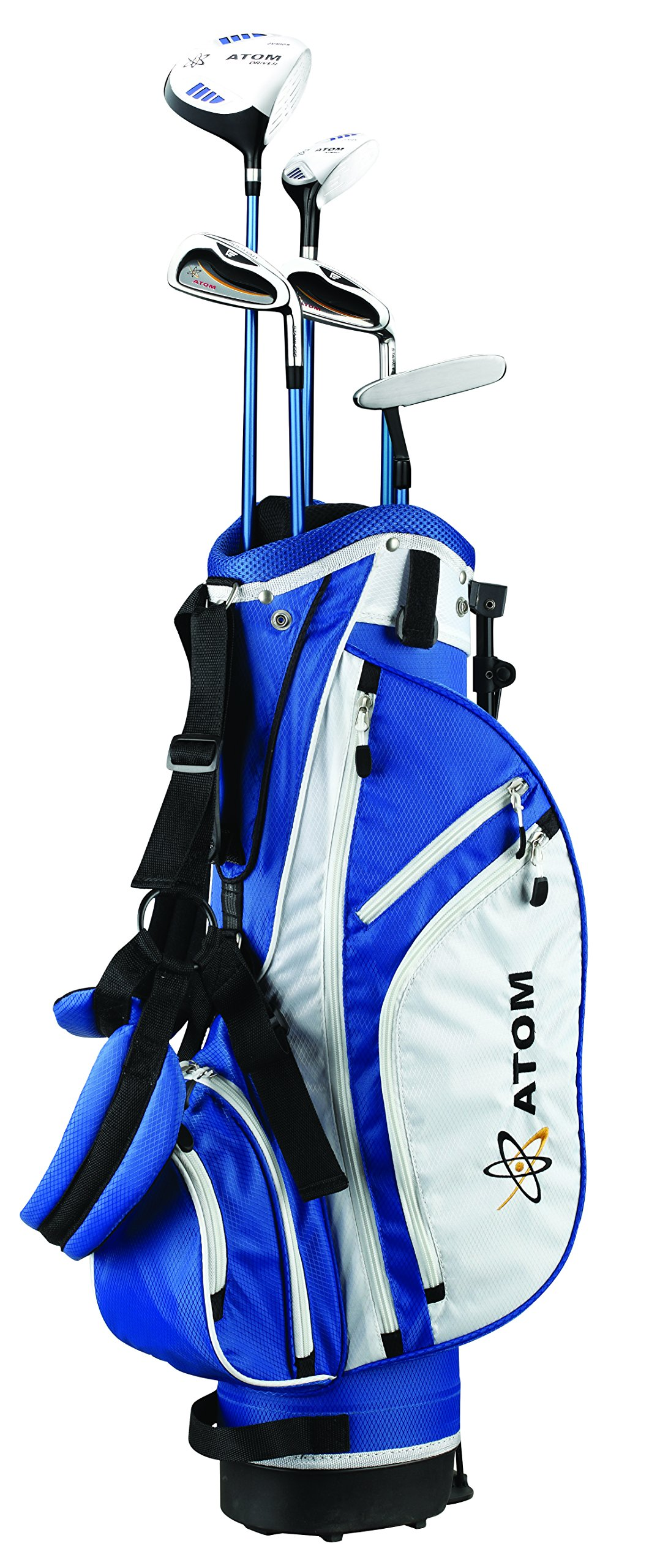 Founders Club Atom Complete Junior Golf Set, Youth 54-63'' Tall, Ages 10-13, Right-Handed