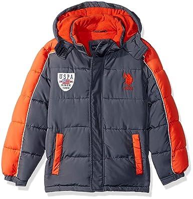 U.S. Polo Assn. Niños O_UC83H Abrigo sintético - Gris - 3 años ...
