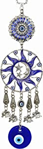 Turkish Blue Evil Eye Protective Wall Hanging Decor Amulet Ornament -CL17
