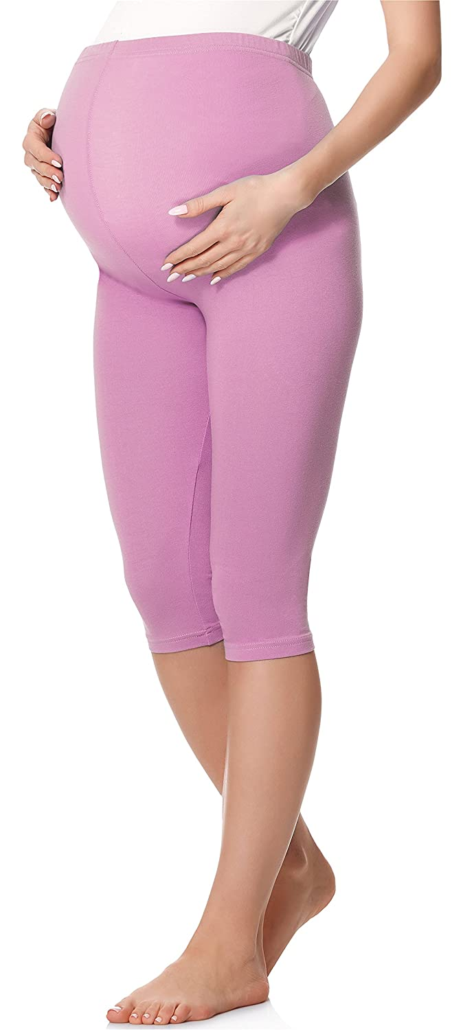 Be Mammy Womans 3/4 Maternity Leggings Tights BE20-229