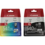 Canon XL Original Ink Cartridges for Black and Colour