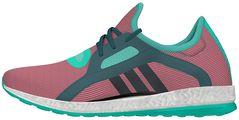 Adidas Pureboost X, Zapatillas de Running para Mujer 37 1/3 EU|Turquesa (Menimp / Vertec / Rojimp)