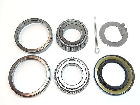 """americanprime remolque eje rueda Hub rodamientos para L44643 L44610 grasa sello 12192tb 1.249 """"I.D."""