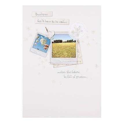 Hallmark - Tarjeta de despedida con mensaje «Good Times ...