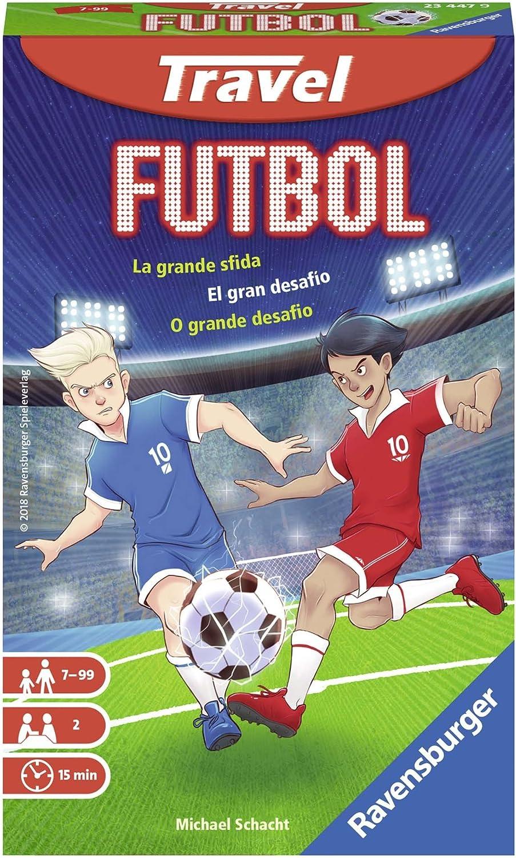 Ravensburger Italia 23447 – Futbol Travel Juegos de Viaje: Amazon.es: Juguetes y juegos