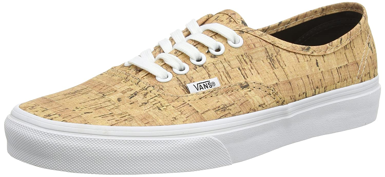 Vans Authentic B00RPPYG94 10 B(M) US Women / 8.5 D(M) US Men (Cork) Tan/True White