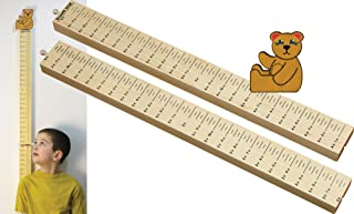 product image for Growth Stick with Teddy Bear Topper - Made in USA