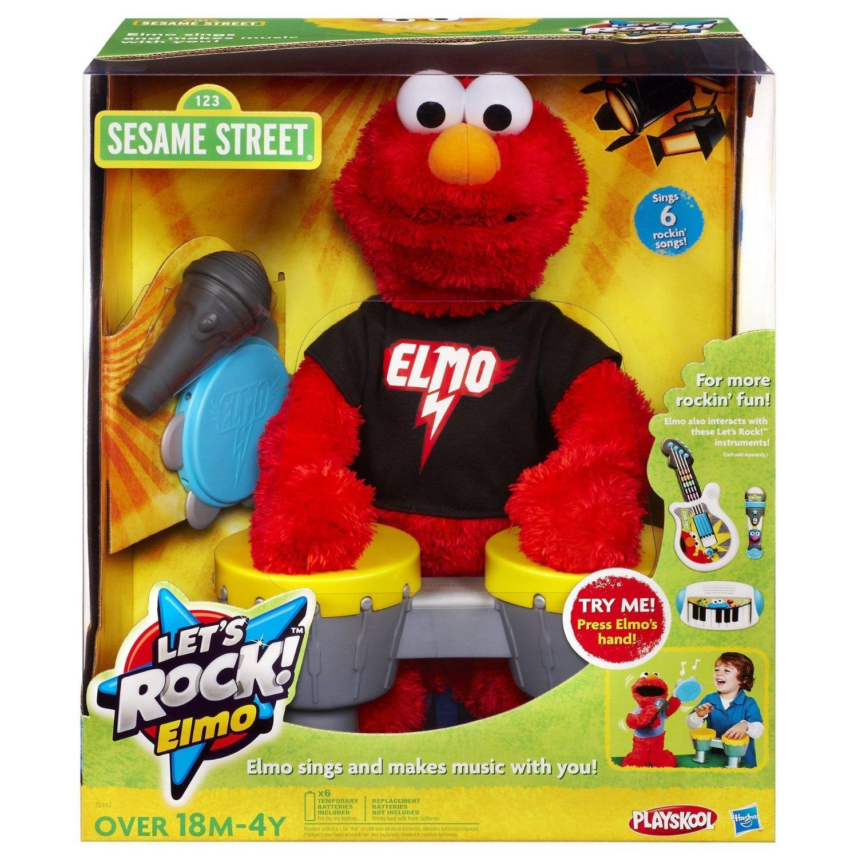 Sesame Street Lets Rock Elmo Toy Amazon Toys & Games