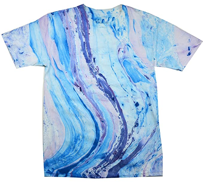 Amazon Colortone Youth Adult Marble Tie Dye T Shirt Clothing