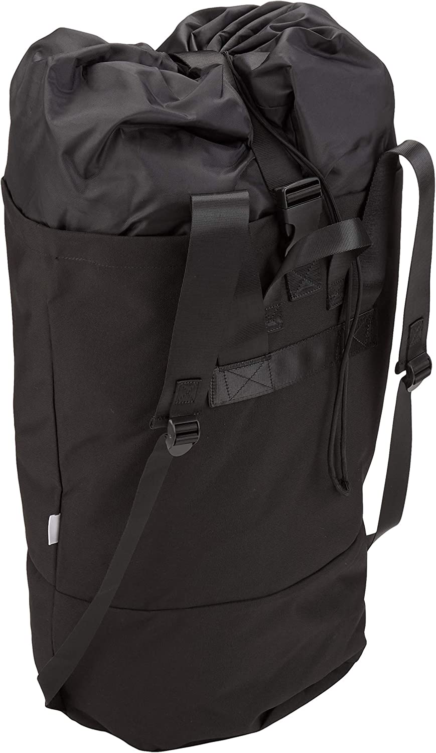 StramperBAG | Laundry Bag | College Laundry Backpack and Hamper | (Black (NO Zipper), Polyester & Polyester Blend)