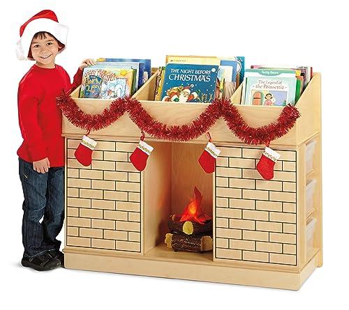 Jonti-Craft 3776JC Storybook Fireplace