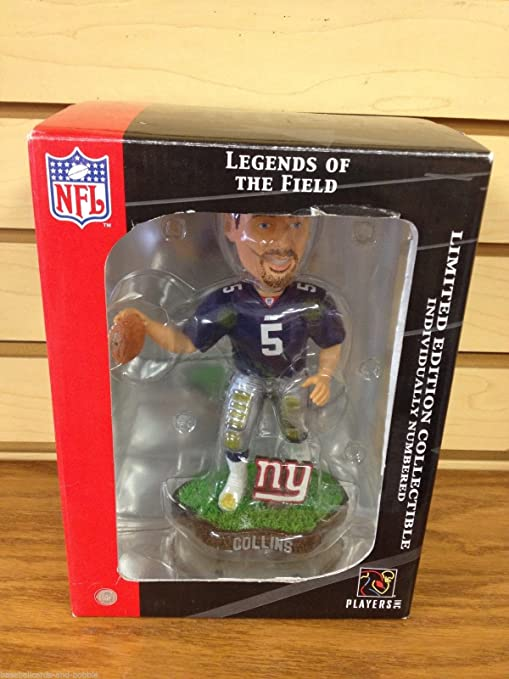 78c2a789222 KERRY COLLINS #5 Legend of the Field New York Giants Limited Edition  Bobblehead