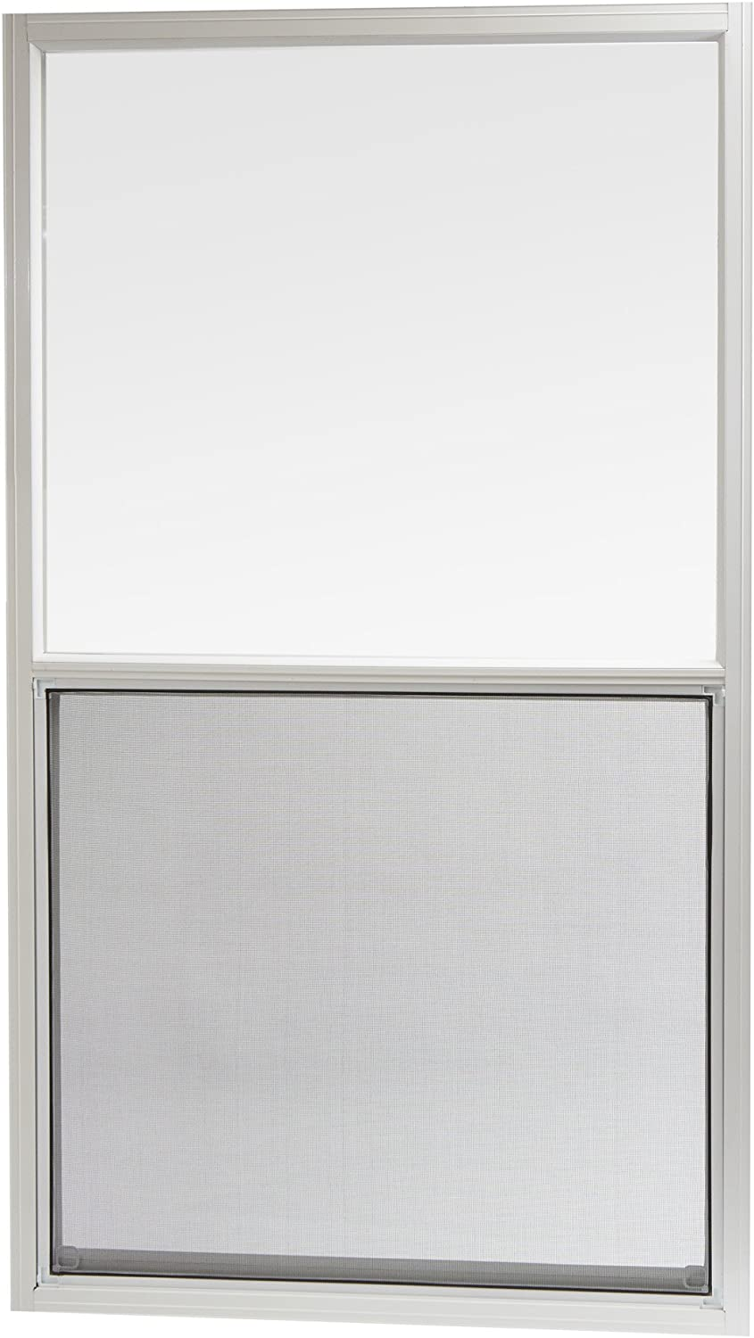 "Park Ridge Products AMHW3054PR Park Ridge White Aluminum Mobile Home Single Hung Window, 30"" x 54"""