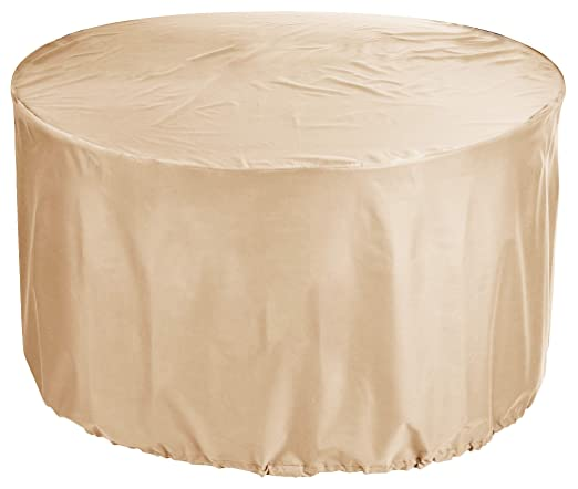 KaufPirat Premium Fundas para Mesa Redonda Ø 160x110 cm Cubierta ...