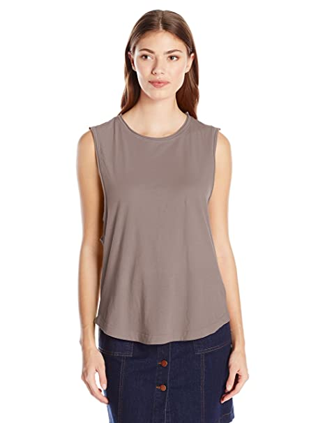 f63762a4 LAmade Women's Venice Muscle Tee at Amazon Women's Clothing store