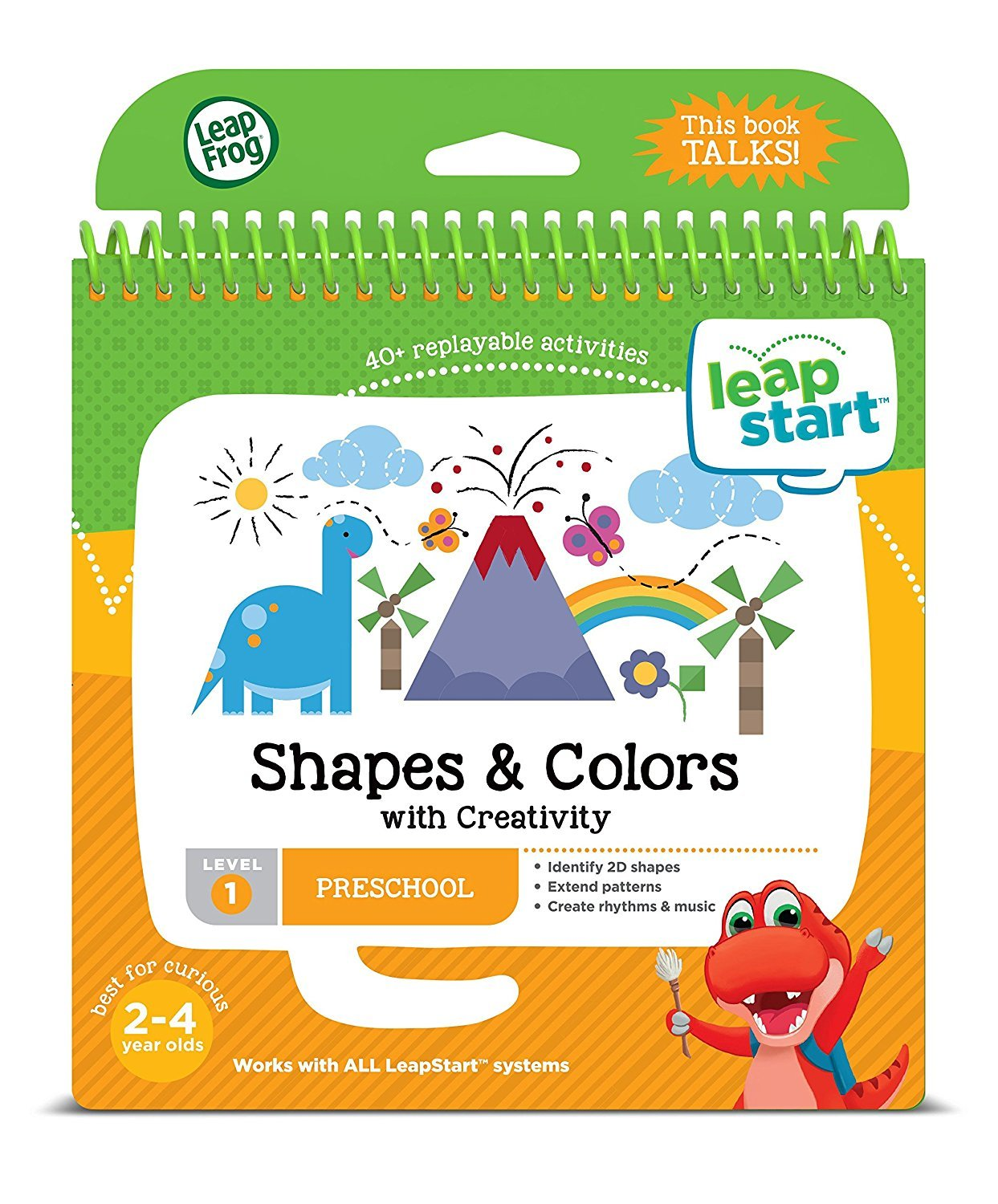 LeapFrog LeapStart Nursery Activity Book: Shapes, Colours and ...