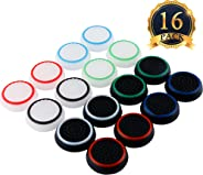 SUBANG 8 Pairs Thumb Grips Silicone Thumb Stick Noctilucent For PS3 /PS4/PS2/ /Xbox 360 /Xbox One Analog Stick Caps Replacem