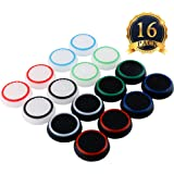 SUBANG 8 Pairs Thumb Grips Silicone Thumb Stick Noctilucent For PS3 /PS4/PS2/ /Xbox 360 /Xbox One Analog Stick Caps…