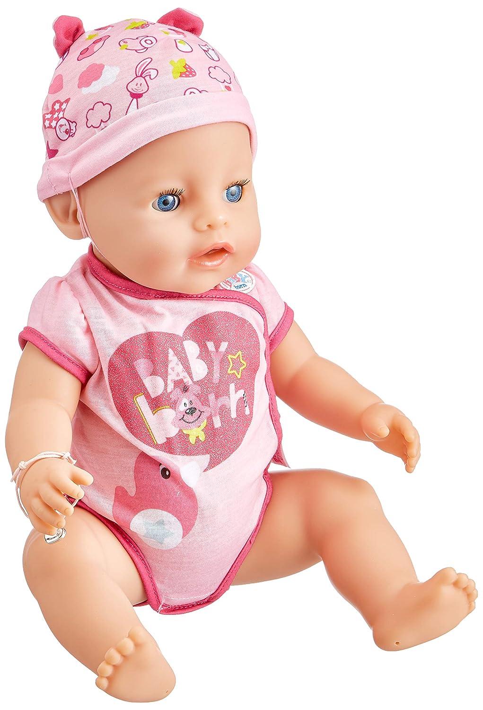 promociones Baby Baby Baby Born 30878 – Muñeca interactiva niña 9 funciones y 11 (incluye accesorios)  buen precio