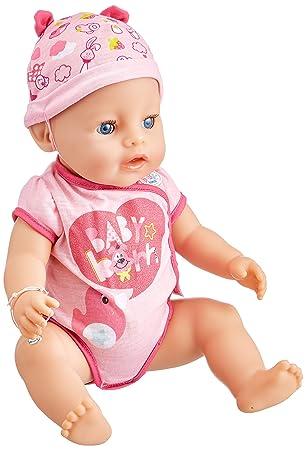 Baby Born - 30878 - Poupon Interactif Fille Baby Born - 9 fonctions et 11  accessoires 731b347bbbd