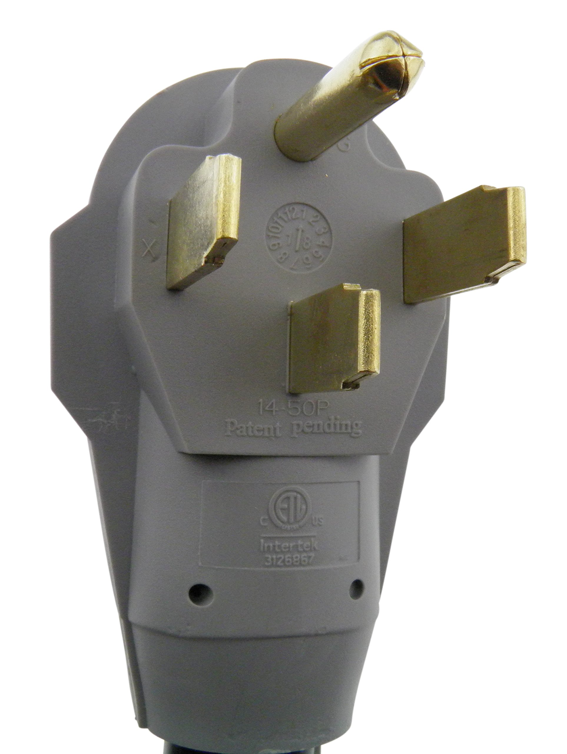 MPI Tools Nema 14-50 Power Cord (3) 6 Gauge Conductor and (1) 8 Gauge, 50 amp 125/250V (30) by MPI Tools (Image #5)