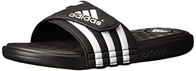buy popular 5d28d b322b adidas Performance Men s adissage SC Sandal,Black White Black,8 ...