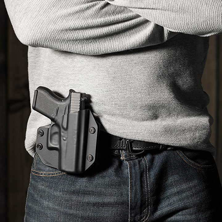 Alien Gear holsters S&W M&P Shield OWB Carry