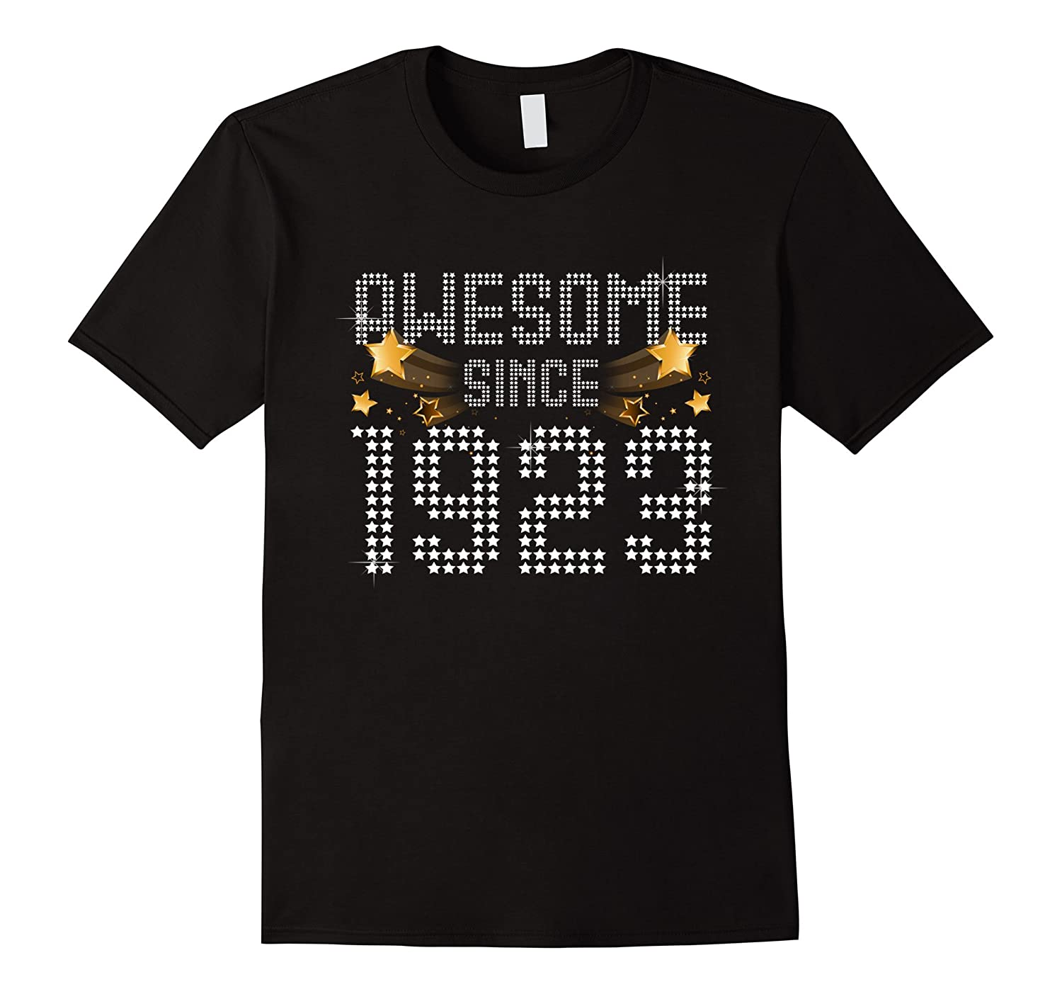 Awesome Since 1923 94 Years Old Funny 94th Birthday Gift Tee-TH