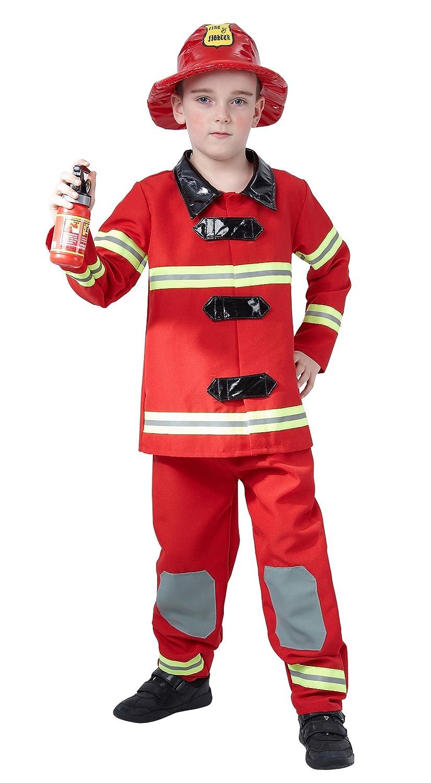 Disfraz de bombero para niño: Amazon.es: Juguetes y juegos