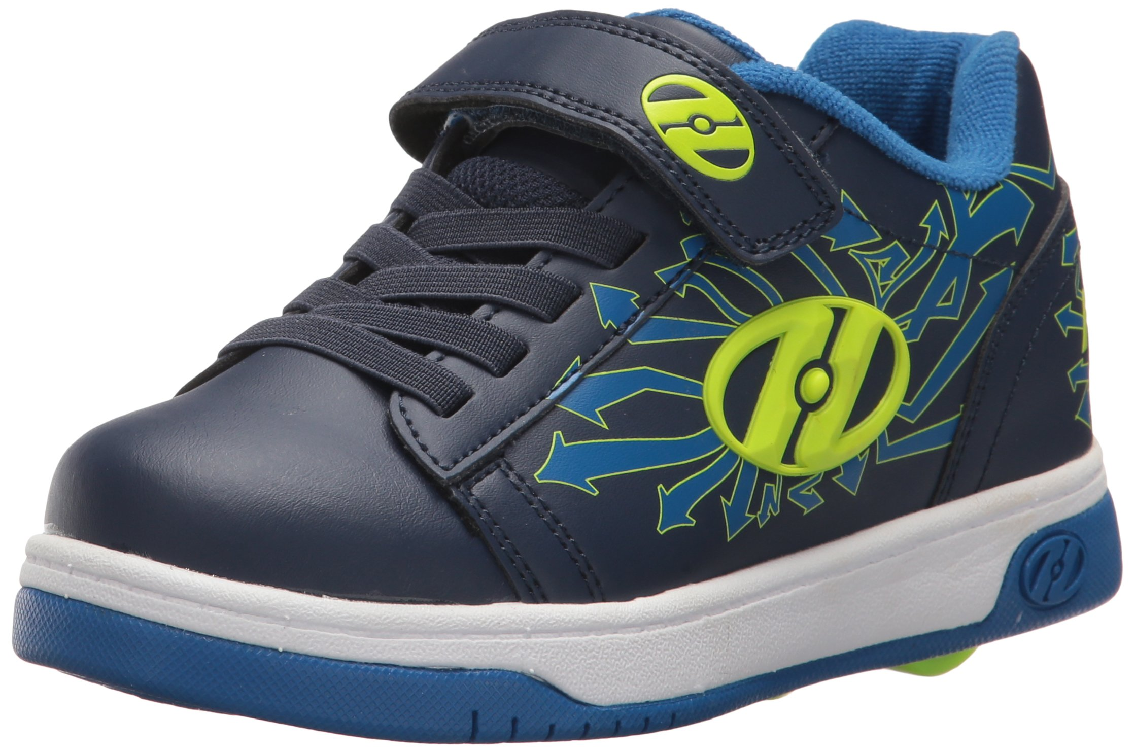 Heelys Boys' Dual up X 2 Sneaker, Navy/Blue/Arrows, 12 Medium US Little Kid