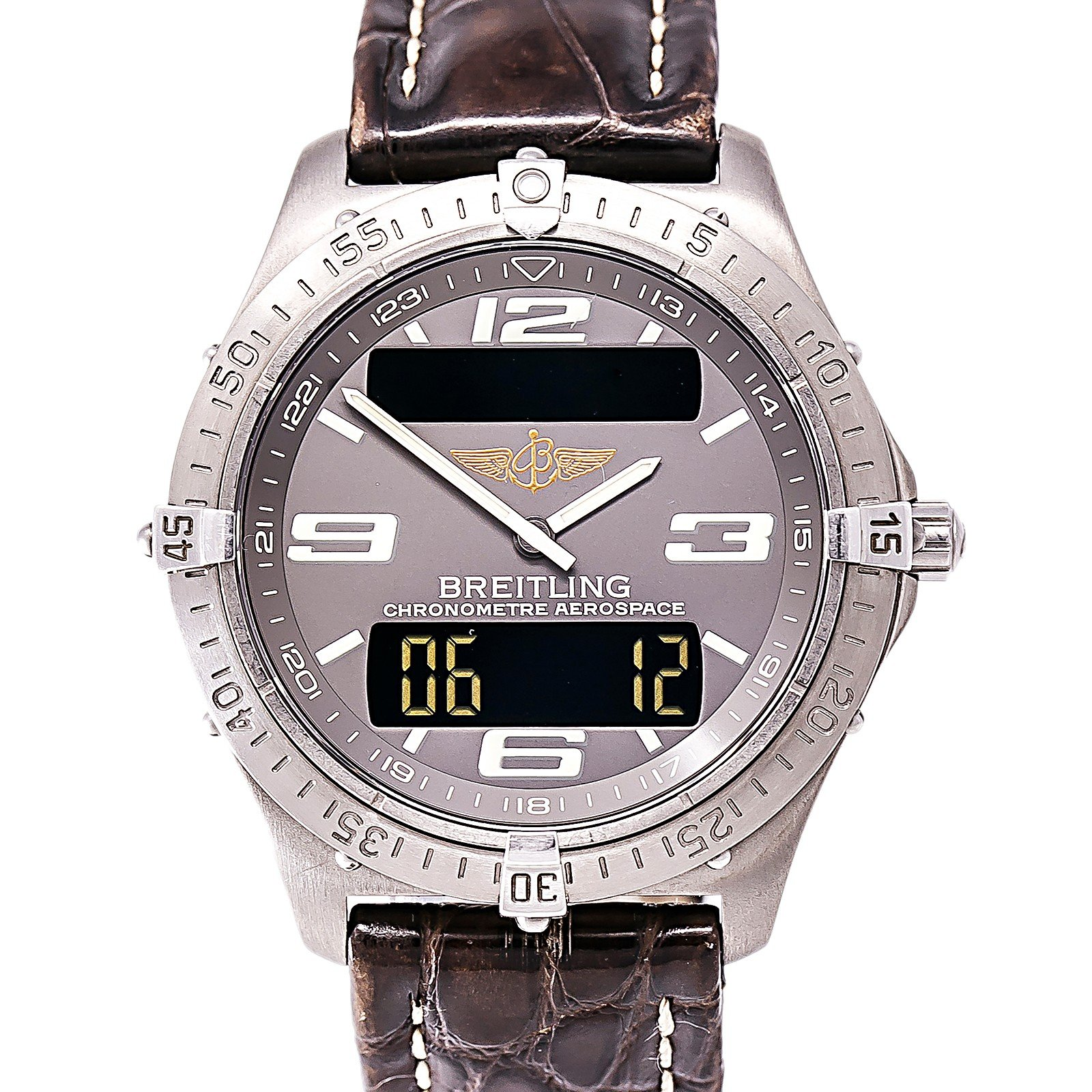 Breitling Aerospace quartz mens Watch E75362 (Certified Pre-owned) by Breitling (Image #4)