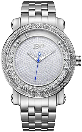 2326c02c0 JBW Mens Quartz Watch, Analog Display and Stainless Steel Strap ...