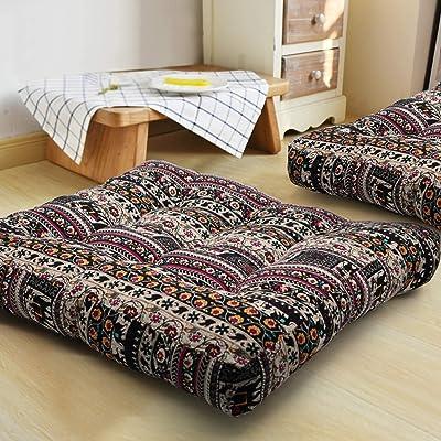 HIGOGOGO Bohemian Floor Cushion