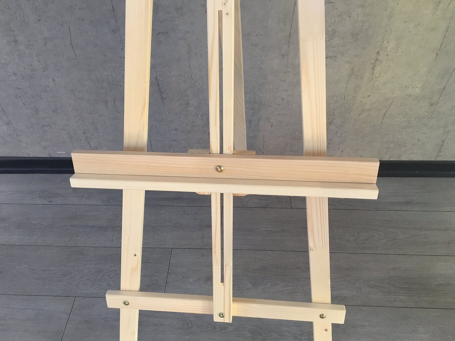 Adjustable Wooden Easel Painting Stand - Canvas Tripod Easel